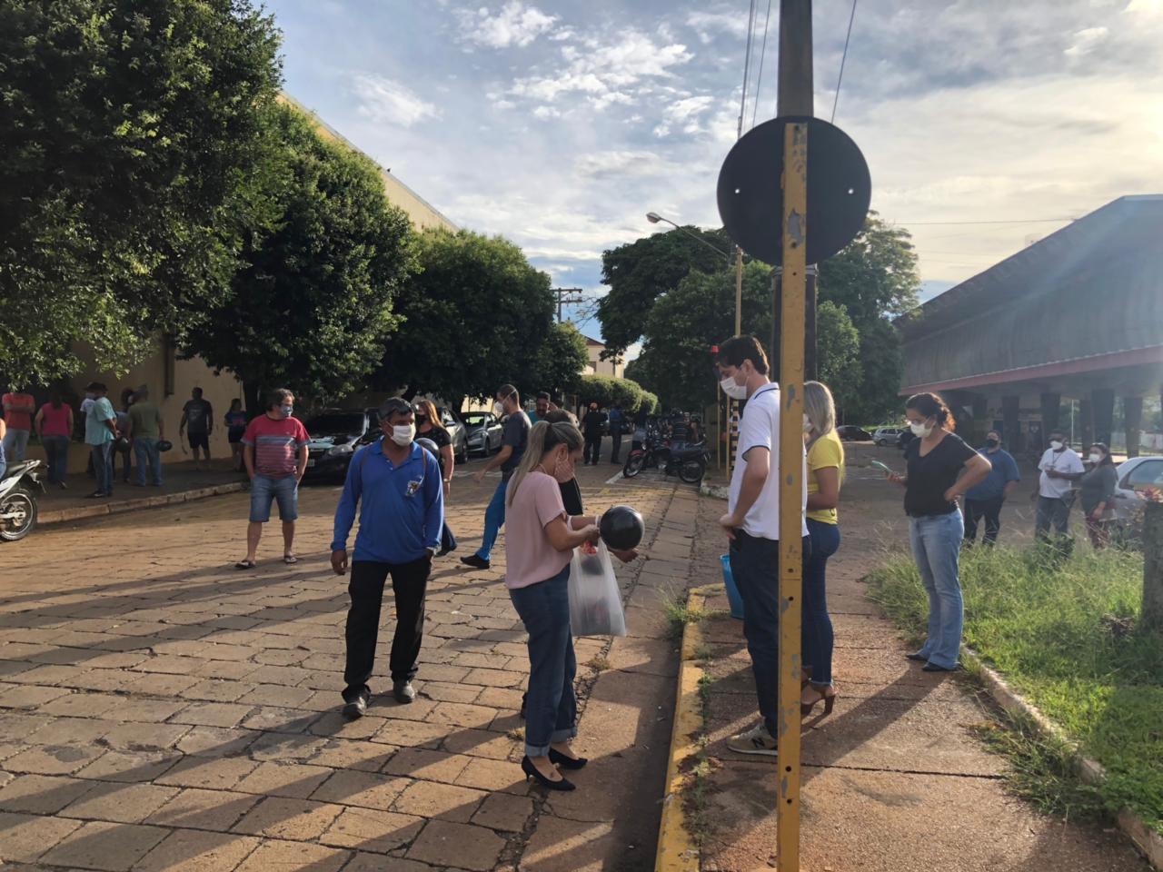 Manifestação dos funcionários Públicos